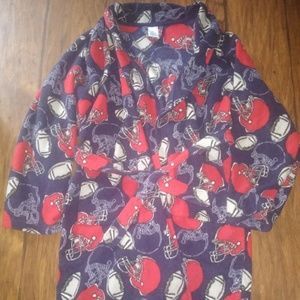 🔥🏈EUC! Children's Place Boys Football Robe🏈🔥